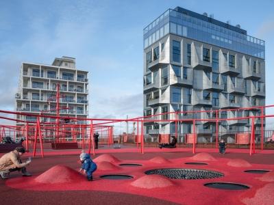 Green Facade Park - JAJA Architects